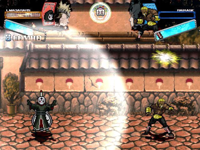 скачать игру Mugen Naruto - фото 8